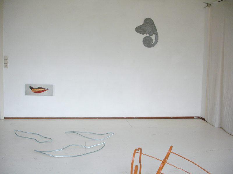 2015 Open ateliers Het Hoofdkantoor Haarlem / gast in mijn atelier Marilou Galdermans