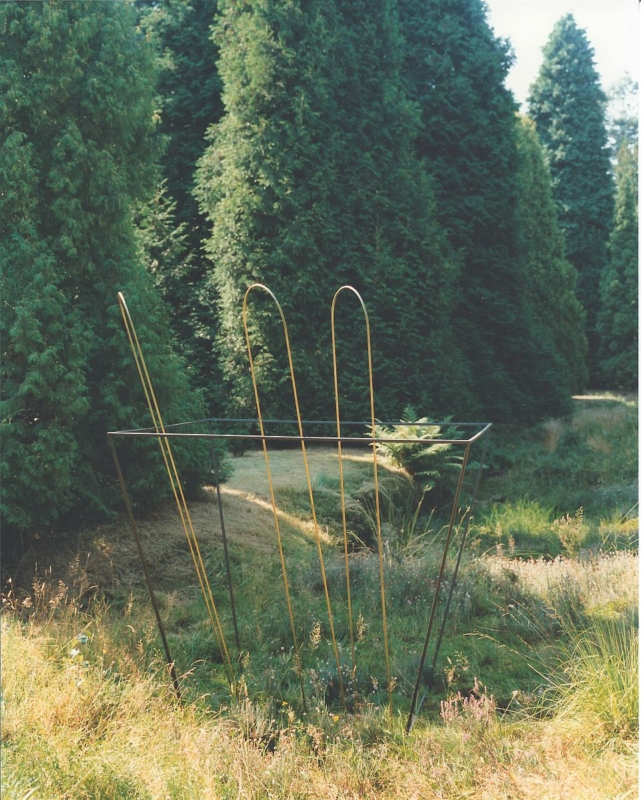 Zonnedauw 1991 metaal messing 170 x 170 x 230 cm Hortus, Haren